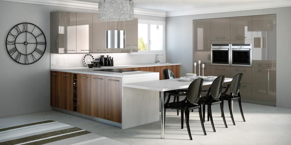 cuisine pyram. Black Bedroom Furniture Sets. Home Design Ideas